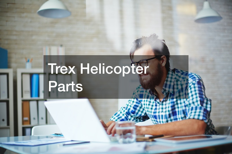 Trex Helicopter Parts