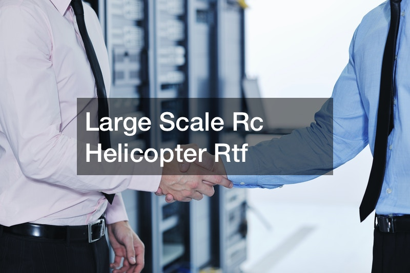 Large Scale Rc Helicopter Rtf