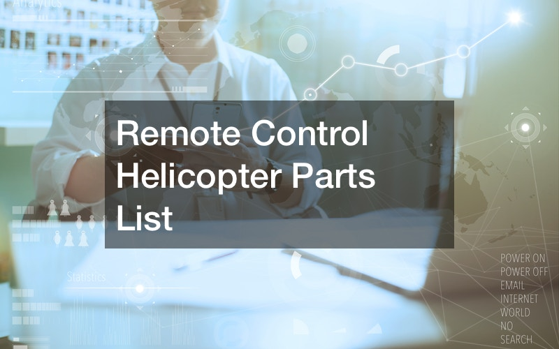 Remote Control Helicopter Parts List