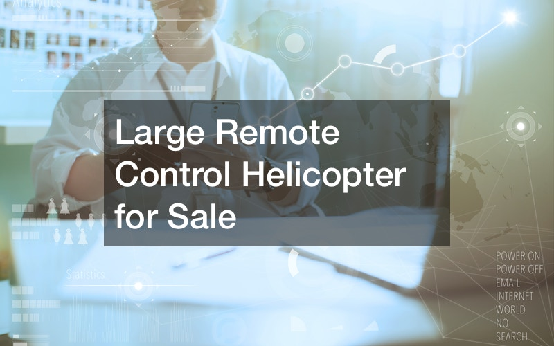 Large Remote Control Helicopter for Sale